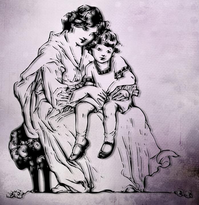 Moeder, Zoon, Familie, Baby, Kind, Liefde, Vrouw, Geluk