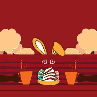 Easter Egg Hunt, Abstract Cartoon Art,124 Free images of Chocolate Day Related Images: Chocolate Love Heart  Valentine's Day  Candy  Hot Chocolate  Romantic  Romance  Valentine  Sweet