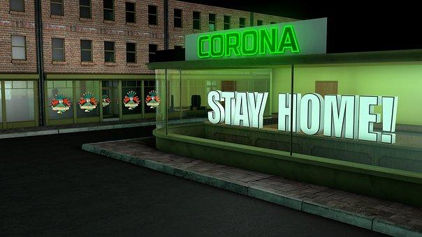 Corona, Stay, Home, Covid-19