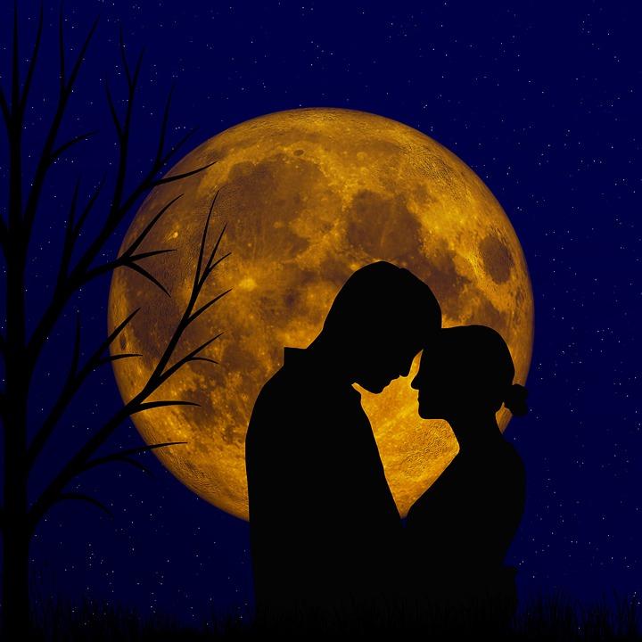 浪漫爱情浪漫的夜晚- Pixabay上的免费图片