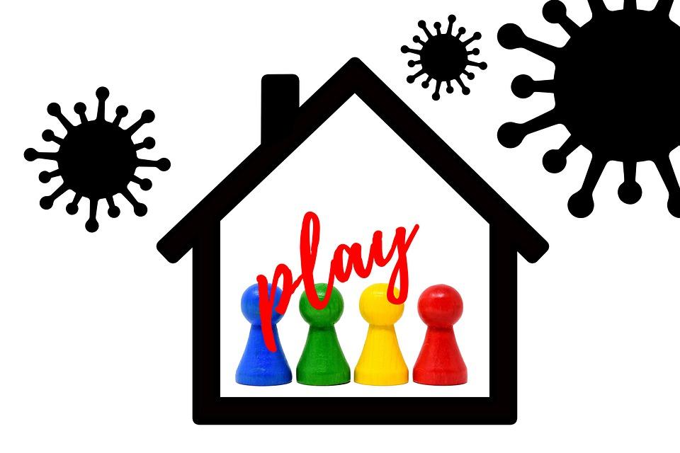 Spellen, Huis, Corona, Coronavirus, Virus, Spelen