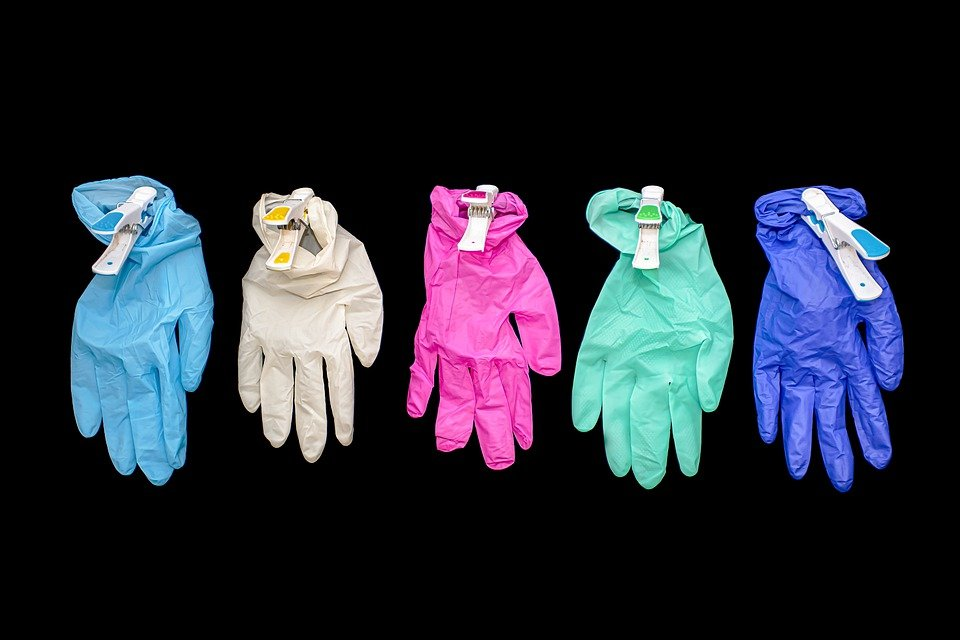 Gloves, Surgical Gloves, Protective Gloves, Wallpaper