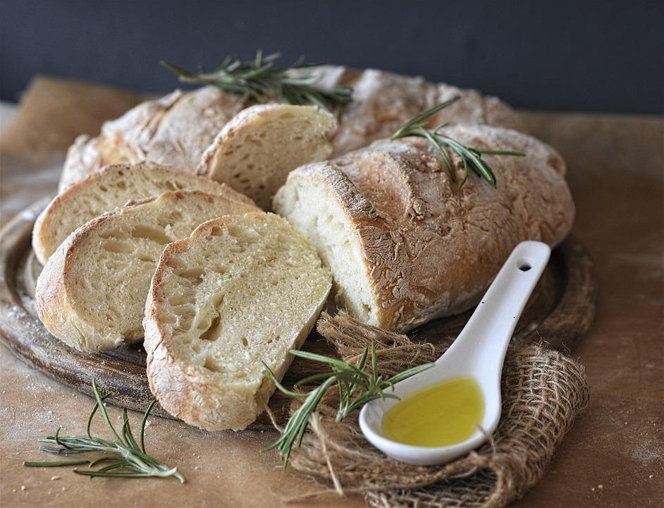 Chléb, Ciabatta, Mouka, Pšeničné Mouky, Pečený, Trouba