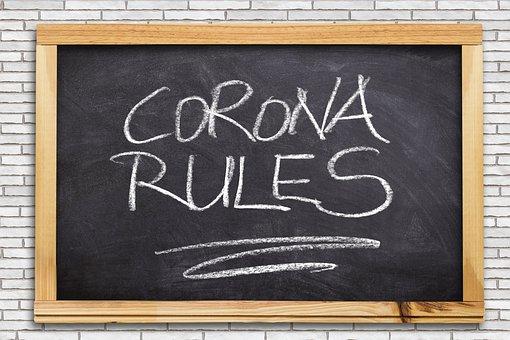 Board, Chalkboard Font, Corona, Rules