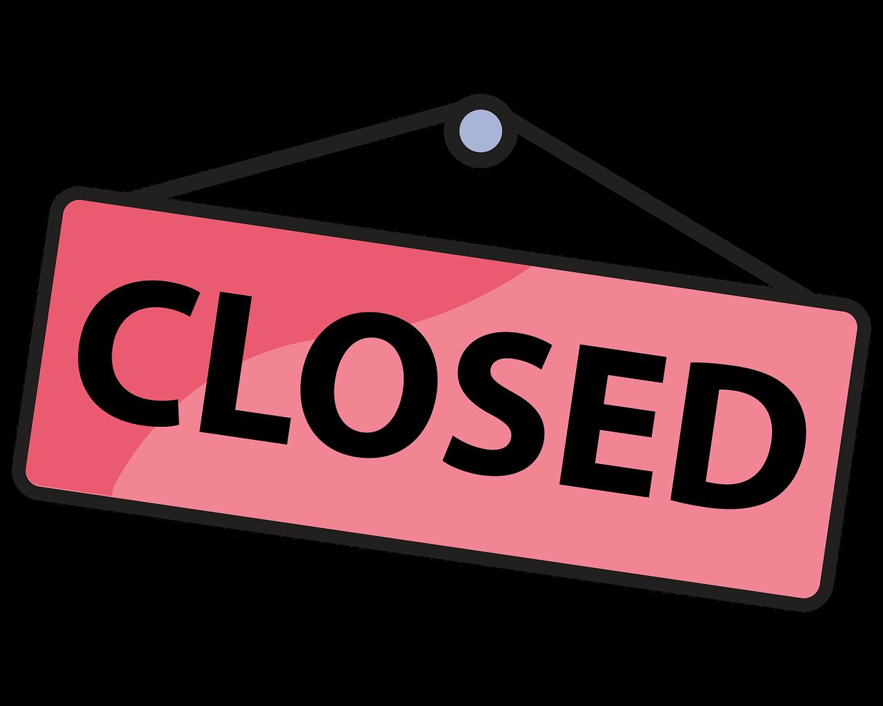 Closed Close Board - Free image on Pixabay