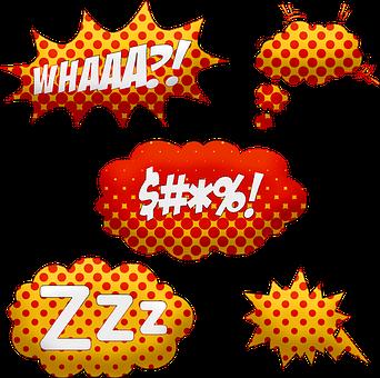 吹き出し, コミックの泡, スーパー ヒーロー, 音声, 話, バブル