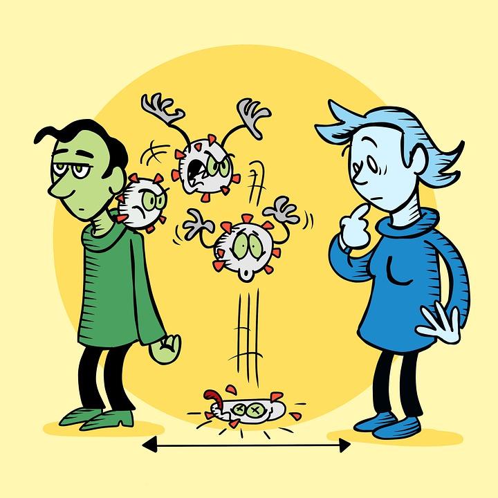 Covid-19, Coronavirus, La Distance Sociale, Virus