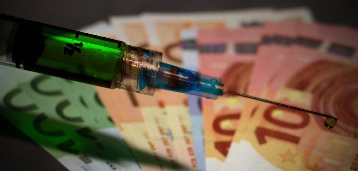 Spuit, Vaccin, Kosten, Corona