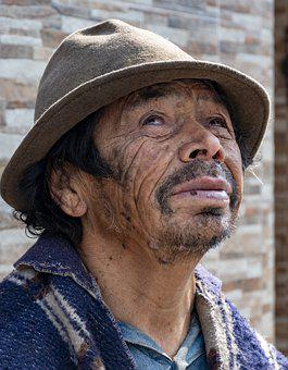 Indígenas, Equador, Mendigo, Pordiosero
