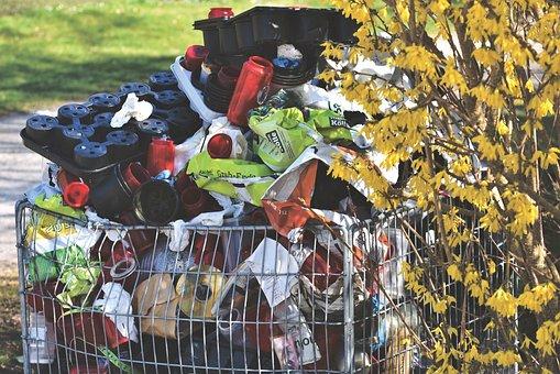 Waste, Garbage, Waste Container