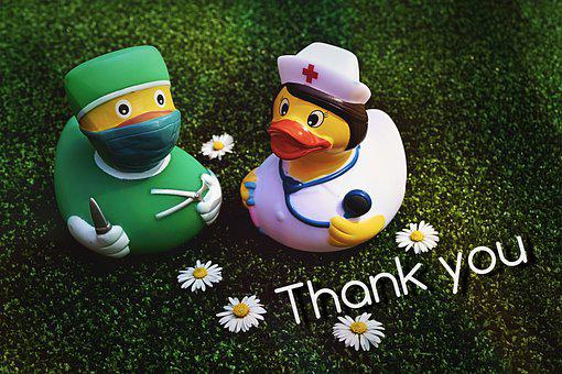 Thank You, Hospital Staff, Doctors