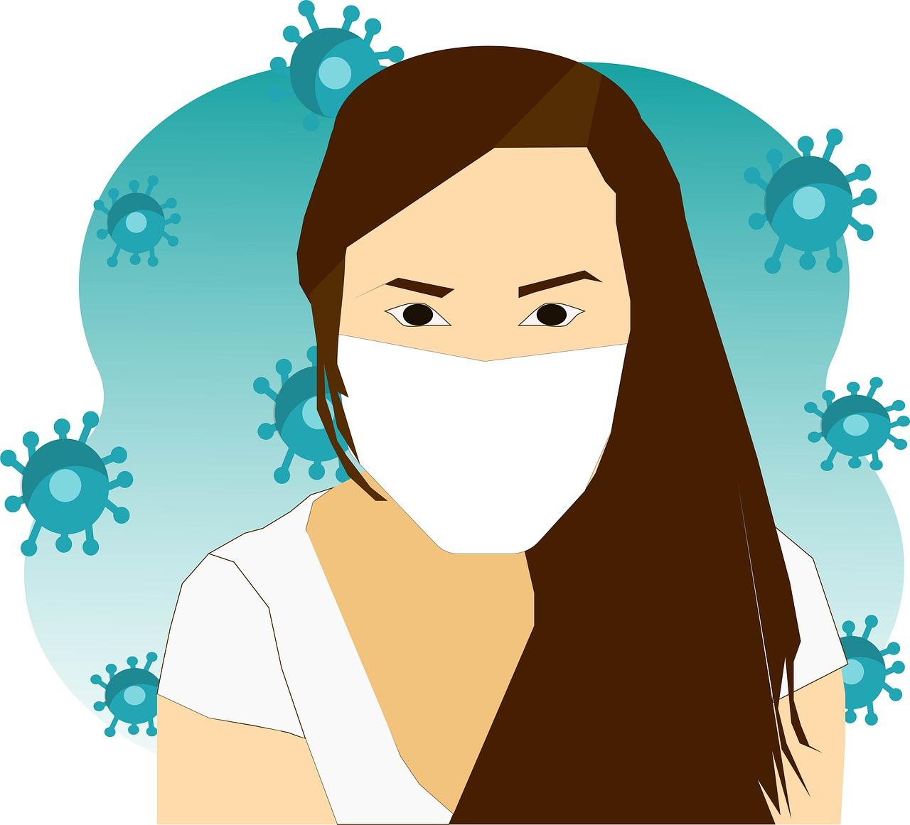 Mask Facemask Woman - Free image on Pixabay
