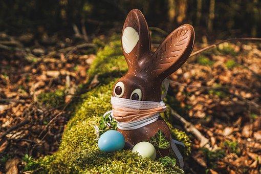 Easter, 2020, Corona, Easter Bunny