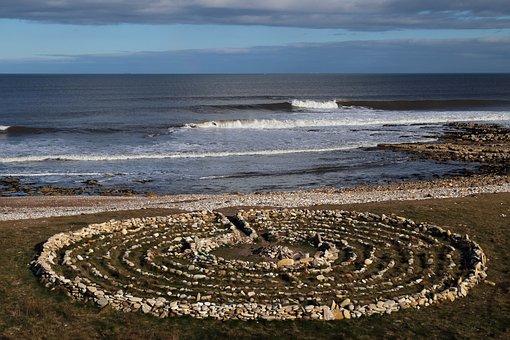 Labyrinth, Meditation, Circle