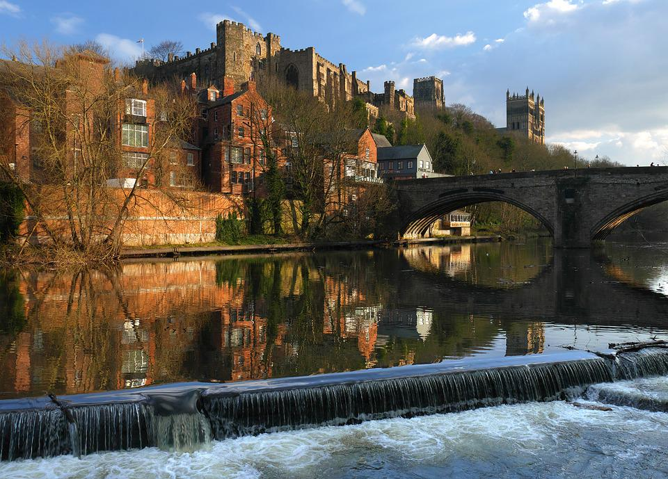 Photograph of the River Wear and Durham Castle