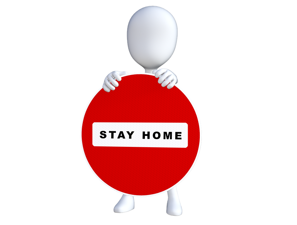Social Distancing Stay Home - Free image on Pixabay
