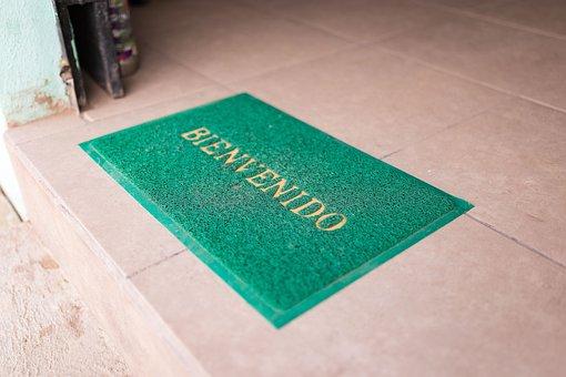 Welcome, Bienvenido, Greeting, Doormat
