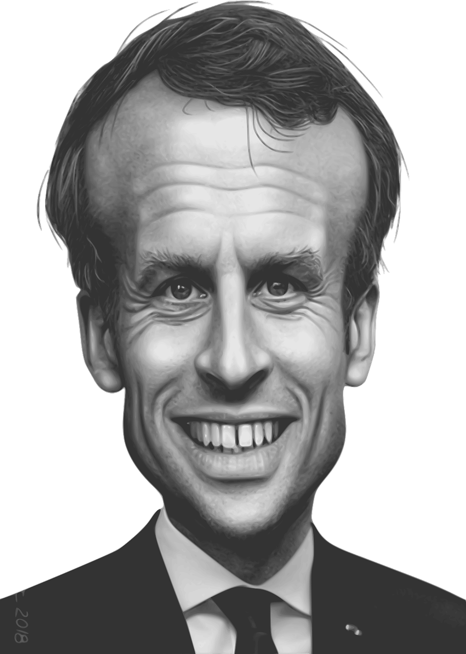 Emmanuel Macron Prancis Presiden Gambar Vektor Gratis Di Pixabay