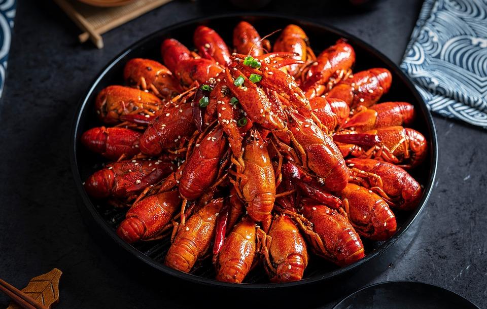 Shrimps low calorie, high protein