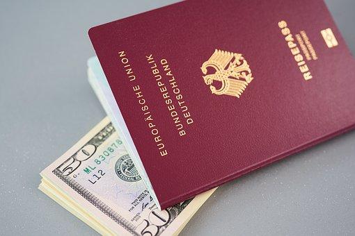 パスポート, アイデンティティ, 識別, 移民, 旅行, イド, 市民, ビザ