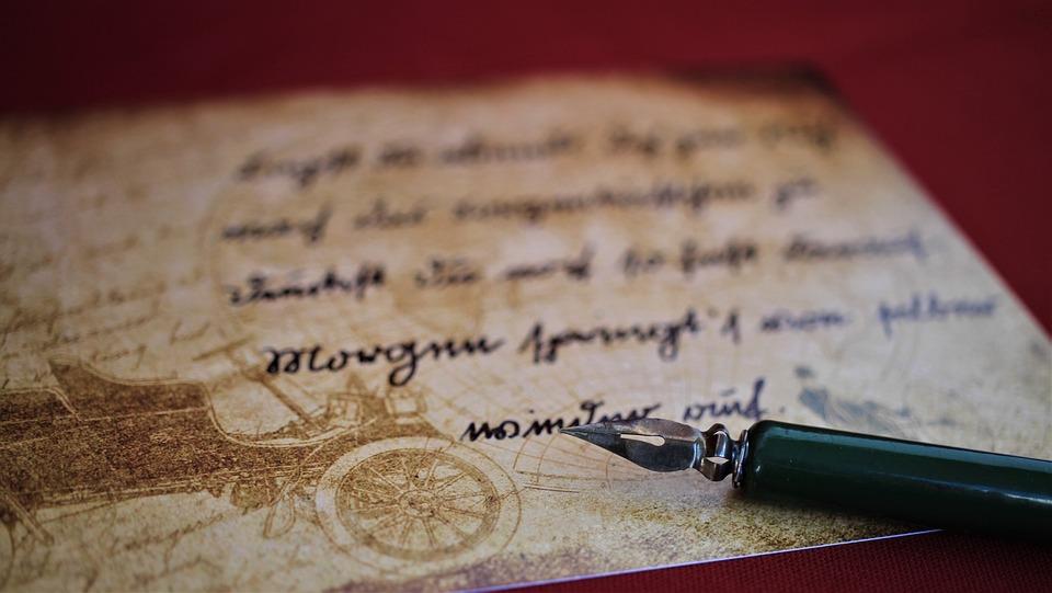 זוטרלין, כתב יד, כתיבה, וינטג ', גופן, אותיות