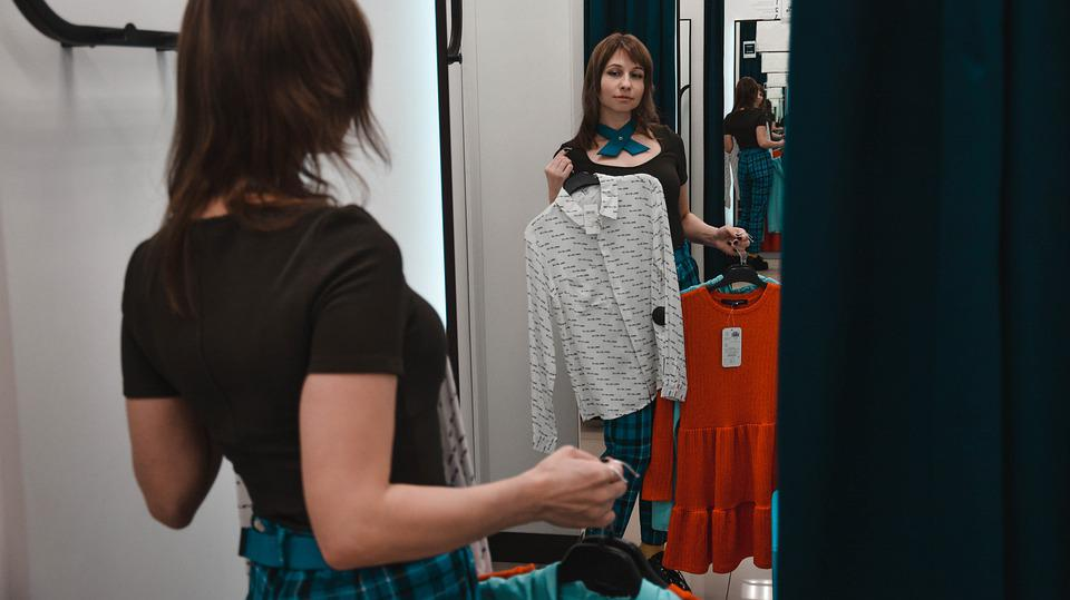 Shop, Fitting, Clothing, Purchase, To Measure Clothes