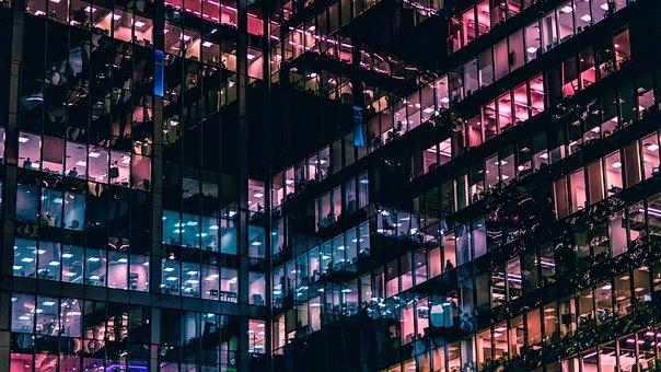 City, Window, Architecture, Urban, Glass
