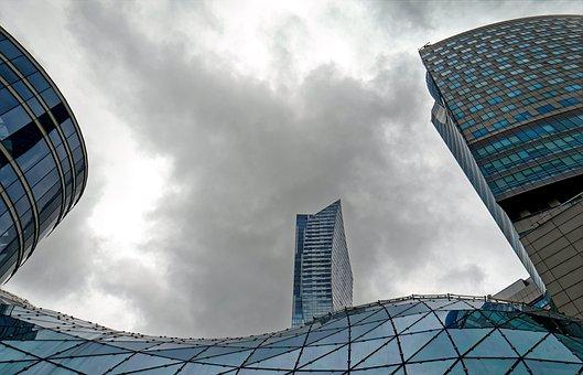 Paisagem, Urbano, Arquitetura, Moderno