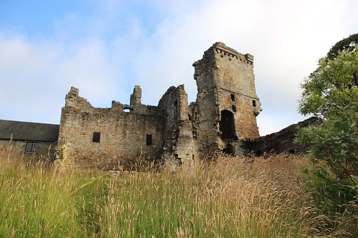 Aberdour, Castle, Fife, Medieval
