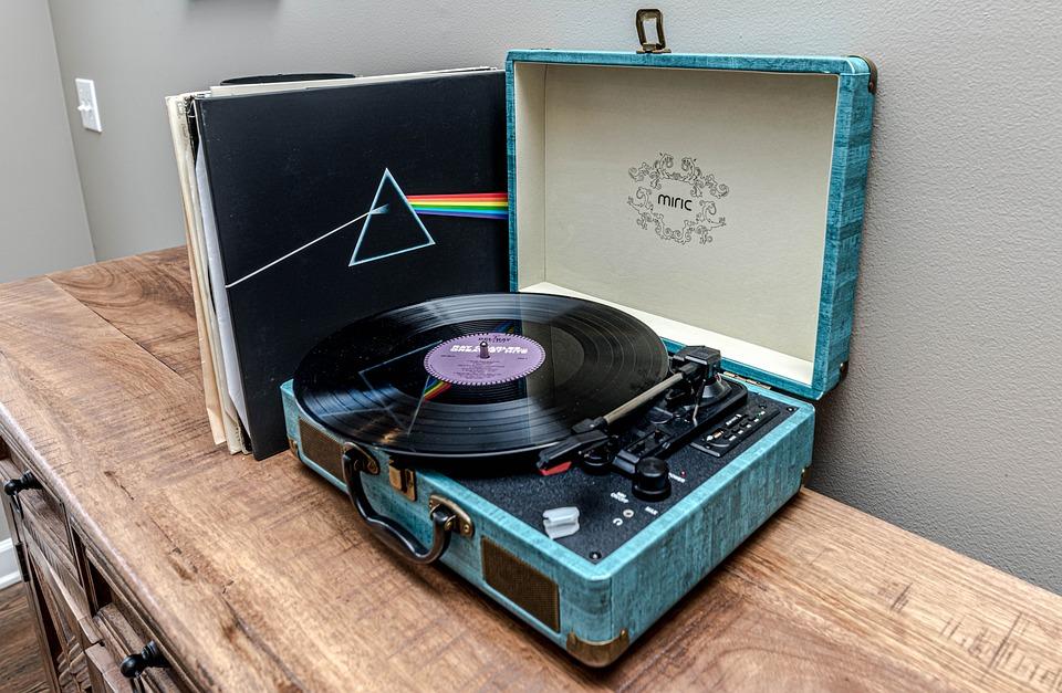レコード プレーヤー, レコード, ビンテージ, ターンテーブル, 音楽, レトロ, ビニル