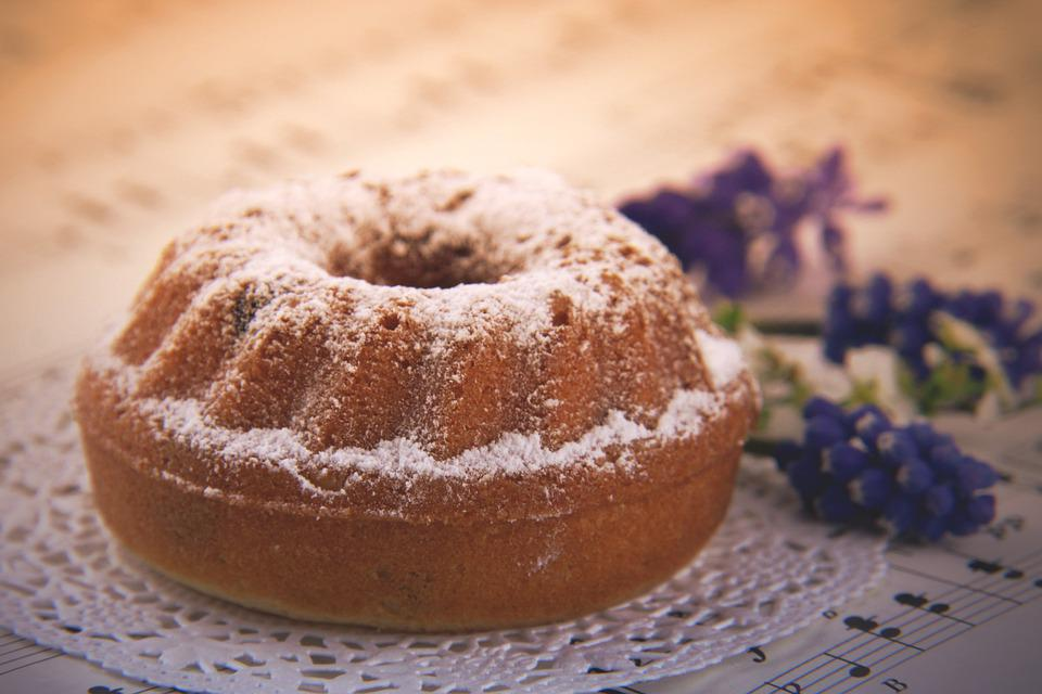 Gugelhupf, Cake, Bake, Invitation, Bowl Cake