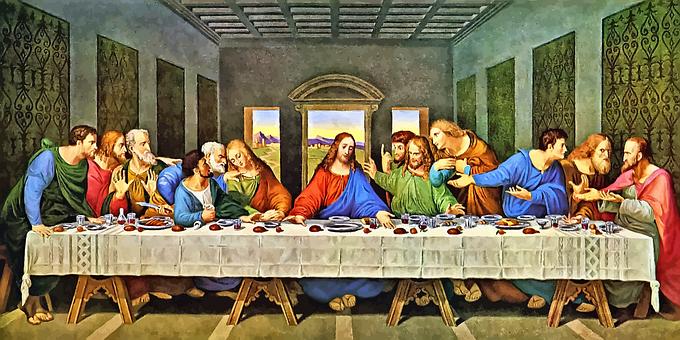 Last Supper, Jesus, Leonardo Da Vinci