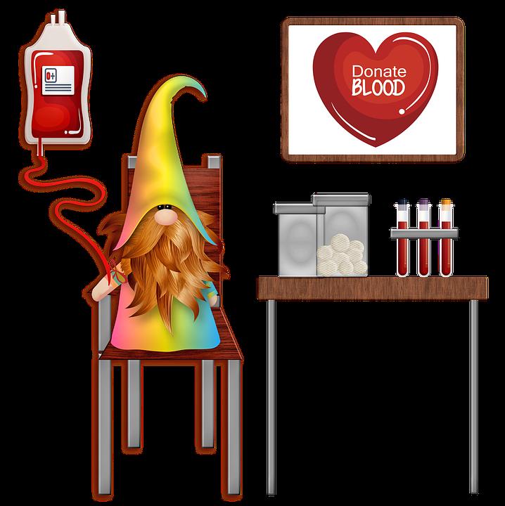 Blut Spenden, Gnome, Soziale Distanzierung, Zwerge