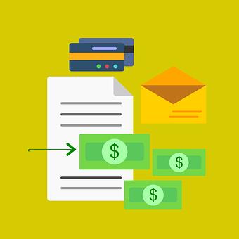 お金, フォルダー, 会計, 折り紙, 簿記, ファイナンス, ビジネス, 請求