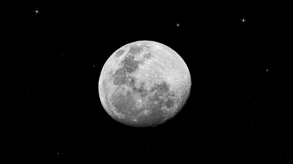 Luna, Moon, Noche, Night, Astrología, Espacio, Universo
