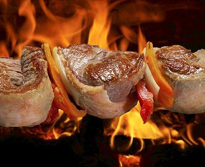 Churrasco, Comida, Carne, Grelhado