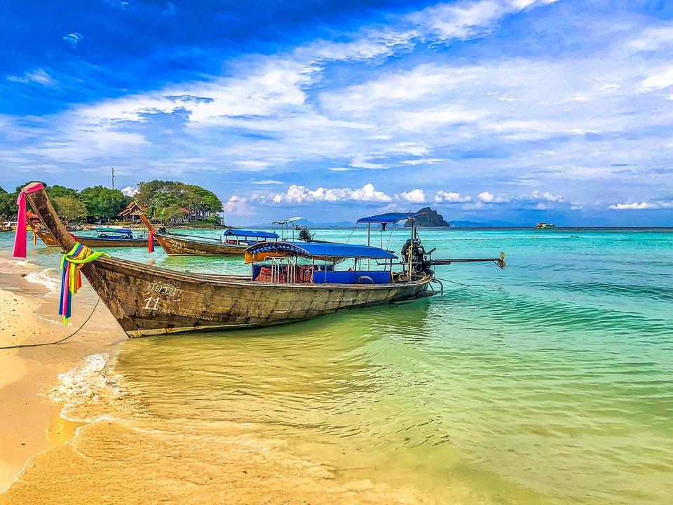 Thaïlande Bateau La Plus Brillante - Photo gratuite sur Pixabay
