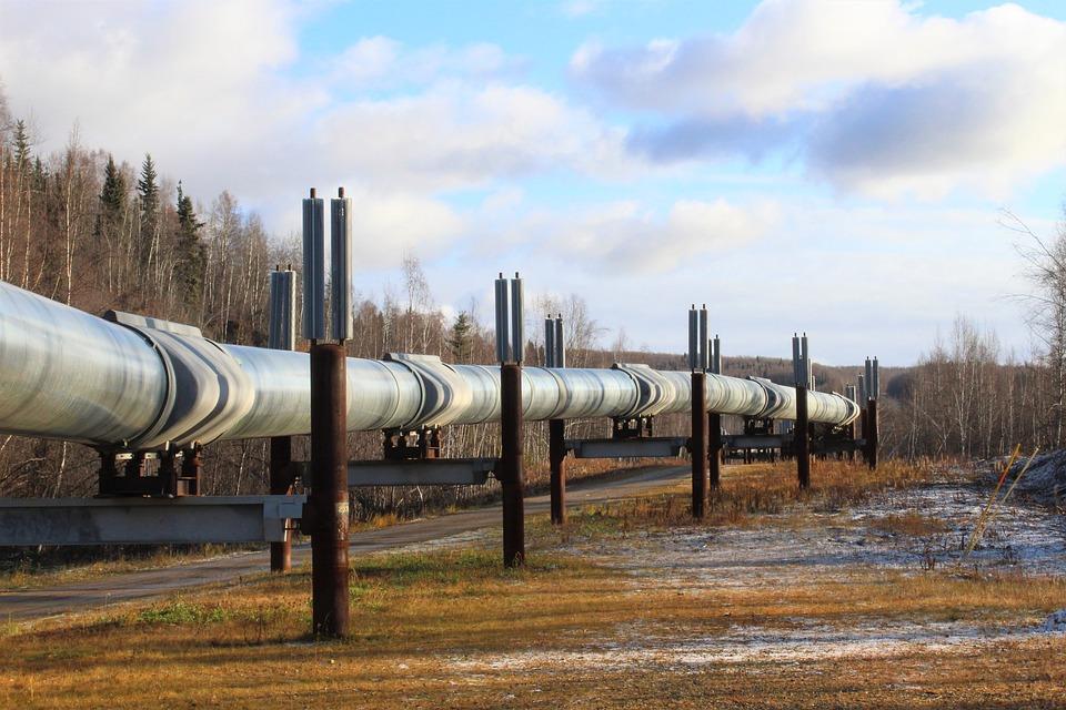 Alaska, Pipeline, Öl, Wahrzeichen