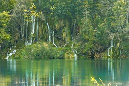 Croatia, Lake, Plitvice, Environment