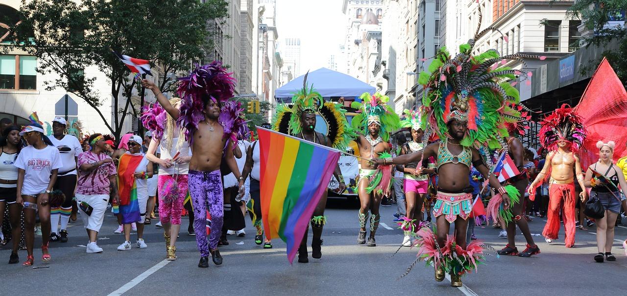 New Bern North Carolina Gay Pride Heart