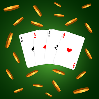 Coins, Casino, Cards, Good Luck, Money