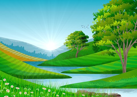 Background, Illustration, Landscape