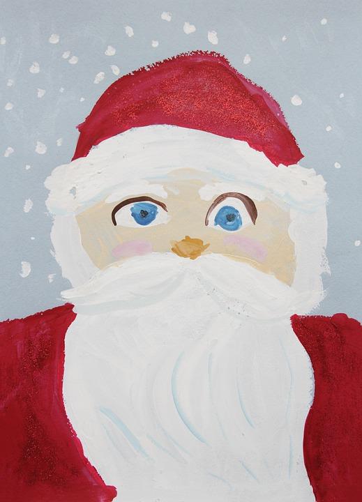 Bambini Babbo Natale Disegno.Disegno Di Bambini Babbo Natale Immagini Gratis Su Pixabay