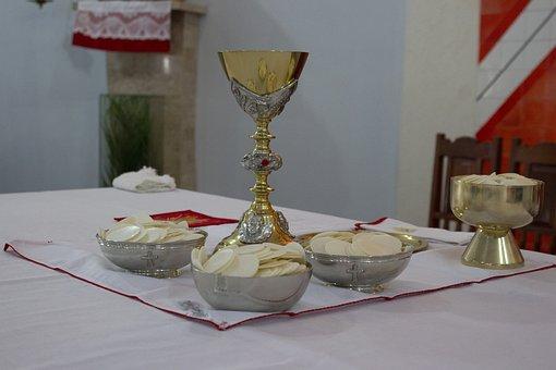 Church, Communion, Cat, Eucharist