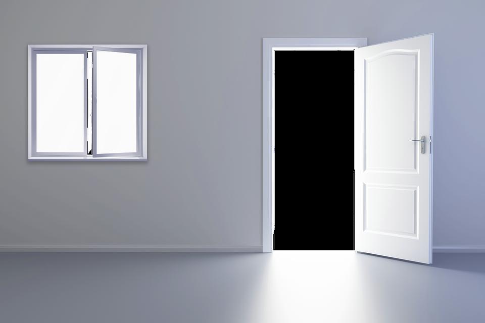 ウィンドウ, ドア, 壁, 部屋, 入口, ハウス, アパート, インテリア, 建設, ビュー