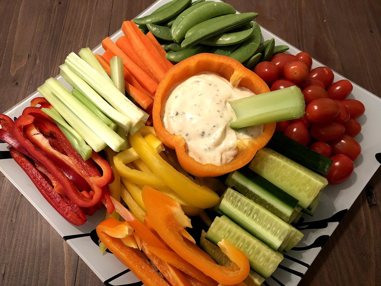 Veggie Platter Vegetables Raw Free Photo On Pixabay