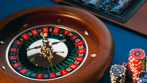 Roulette, Roulette Table, Chips, Money