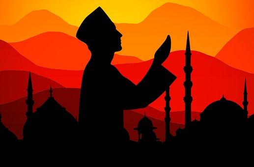 Ramadan, Islam, Doa, Senja, Matahari