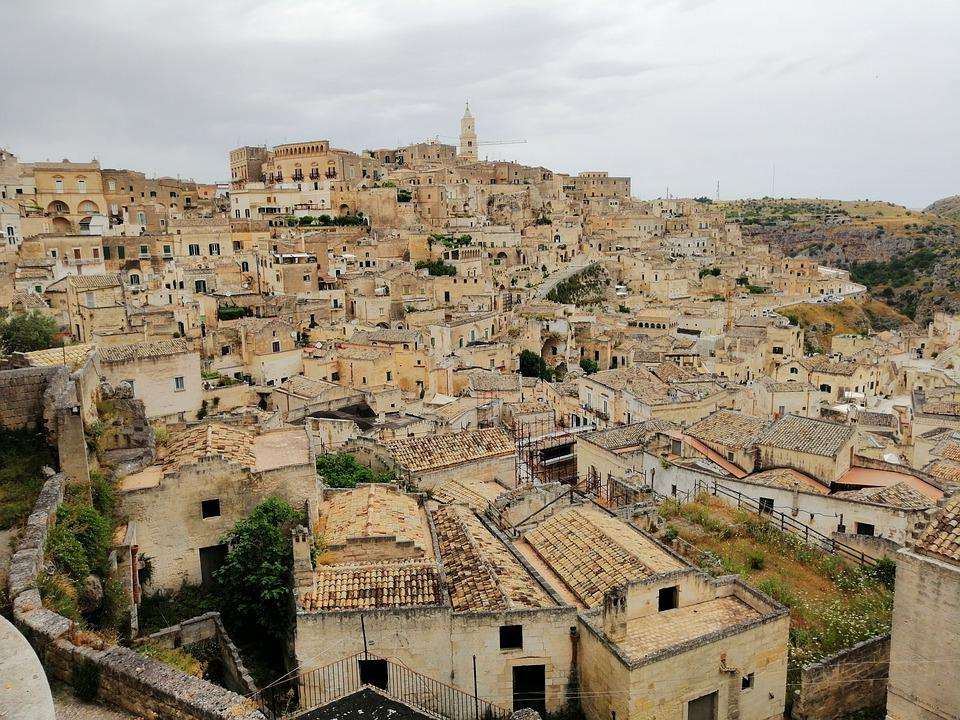 The City Of Matera Sassi -Top vacation Dream Destinations Around the world