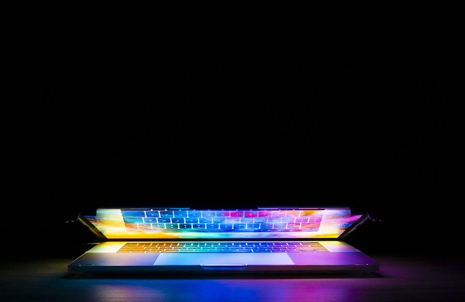 Klávesnice, Počítače, Technologie, Světlo, Barevné